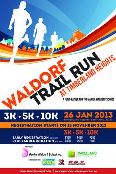 running – Waldorf Trail Run Running Art, Running Posters, Running Club, Trail Running, Marketing Poster, Sports Marketing, Brochure Design, Branding Design, Appropriate Technology