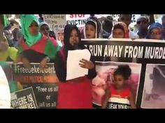 #Oromo protest global solidarity rally in south Af