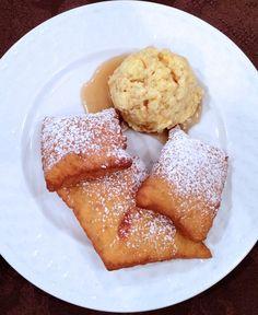 A perfect Thanksgiving dessert: Pumpkin Beignets with Maple Butter