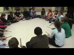 Kalimba lesson and rhythm activity.  Lesson 1 of 2.