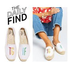 """""""The Daily Find: Soludos Espadrilles"""" by polyvore-editorial ❤ liked on Polyvore featuring Soludos and DailyFind"""