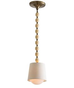 Marfil Pendant - really like this little light