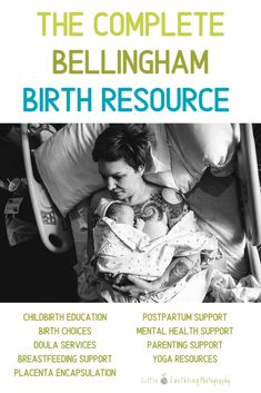 The Ultimate Birth Resource guide contains book recomendations, free printables, web resourses, birth plan, and more!