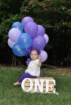 Baby's First Birthday Picture Idea
