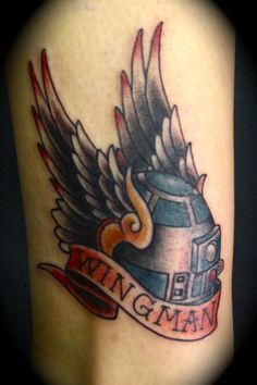 Adam Hays Red Rocket Tattoo (NYC)