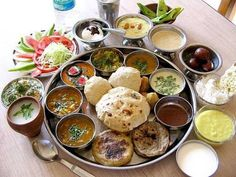 Indian thaali (i.e. dish) in Goa... could you possibly finish all? well, I couldn't.... #goa #indianthaali #food