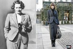 Street-Style Stars Take a Lesson From Old Hollywood's Elite #refinery29