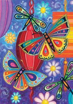 Amazon.com: Toland Home Garden 112570 Bright Wings Decorative Garden Flag, 12.5 by 18-Inch: Patio, Lawn & Garden