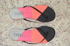 tkees Shades flip flops-Size 9-Brand New! #Tkees #FlipFlops