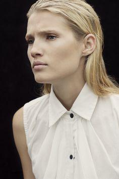 Model Leanda shot by Talitha Snow