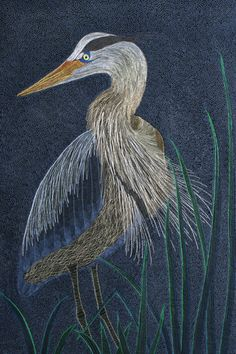 """detail of the back of """"In Hiding""""  by Barbara Shapel.   http://www.barbarashapel.com/142InHiding.htm"""