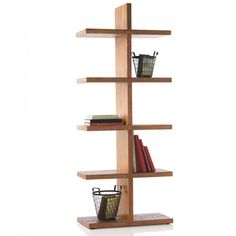 Vintage Fir Convertible Column Shelving - Reclaimed Wood | VivaTerra