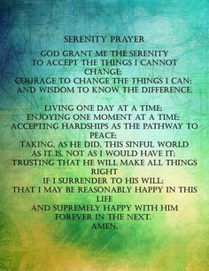 Items similar to Serenity Prayer on Etsy Serenity Prayer Quotes, Faith Quotes, Forgiveness Quotes, Mission Statement Examples, Courage To Change, Morning Prayers, Time Quotes, Empowering Quotes, Best Inspirational Quotes