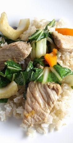 Pork and Bok Choy Stir Fry #WeekdaySupper #RecipeOfTheDay