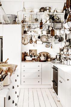 my scandinavian home: VIntage inspired homes