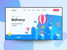 Delivery web ui concept