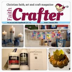 We are having a giveaway event on our Facebook page!  To celebrate the release of our first issue of Faith Crafter for 2016 we will give away one digital subscription for the whole year and four single January issues!  We will draw the winners on January 9 2016, 5 PM GMT!  Welcome to join in!