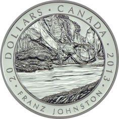 20 Dollar Silber Kanadische Kunst - Group of Seven: F. Johnston PP