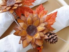 Thanksgiving Napkin Rings with Heartfelt Creations and Tim Holtz inks
