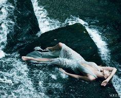 Charlize Theron by Annie Leibovitz