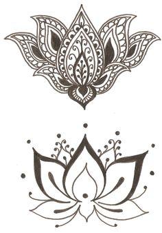 Lotus flower tattoo :)