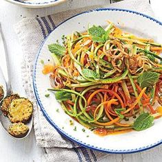 Dress thinly sliced vegetables with our fresh take on catalina dressing--inspired by two Birmingham chefs, Wil Drake and Roscoe Hall--and garnish with any fresh herbs you like.