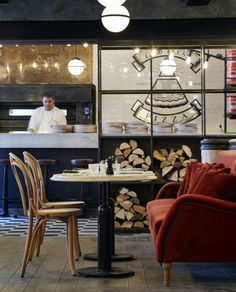 Restaurante Margherita Trattoria A LA PARISIENNE Saint germain