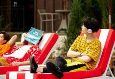 Behind the scenes photos of BTS x Coca-Cola  #Yoongi