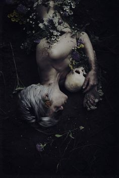 """Dark Spring"" — Photographer: Amy Ballinger Model: Cristina Peterson"