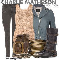 "Inspired by Tracy Spiridakos as Charlie Matheson on ""Revolution"" - Shopping info!"