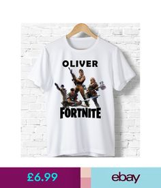 0a7773374 Boys' Clothing (2-16 Years) Personalised Fortnite T Shirt Birthday  Christmas Present