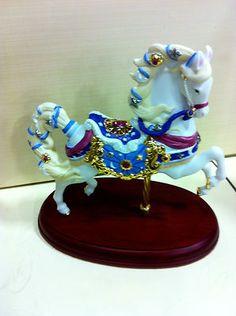 Carousel Statues:  Lenox Celestial Carousel Horse