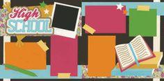 High School - Girl Page Kit