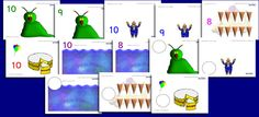 Counting playdough mats 2