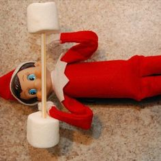 Kids are crazy for Elf on the Shelf, but for parents, it can be equal parts fun and formidable. Who hasn't spaced out about moving the elf one night only to be Elf On The Self, The Elf, Elf Auf Dem Regal, Awesome Elf On The Shelf Ideas, Naughty Elf, Reindeer Food, Christmas Preparation, Christmas Elf, Christmas Ideas