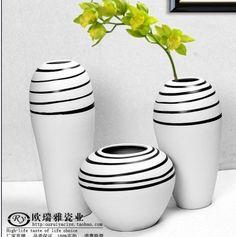 orintaalse keramische bloem mode home decoration aardewerk vaas delige set