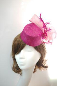 Sinamay Fez BY IRENE YIP #millinery #hats #HatAcademy