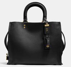 Coach 1941 Rogue Bag In Glovetanned Pebble Leather - ShopStyle Satchels Coach Purses, Coach Handbags, Gucci Handbags, Fashion Handbags, Louis Vuitton Handbags, Coach Bags, Purses And Bags, Designer Handbags, Designer Bags