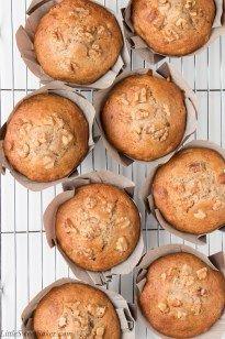 Bakery Style Banana Nut Muffins