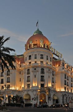 Le Negresco - Nice - France (von Harshil.Shah)