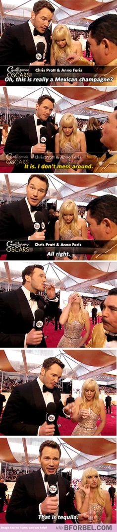 Chris Pratt and Anna Faris got pranked