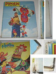 PIPOLIN ALBUM 12 (N° 67 à 72) BE 1963 ARNAL VAILLANT PIF ROUDOUDOU,RIQUIQUI