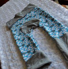 Zookatoosh Pants - Clouds - Gray [zookatooshcloudsblue] - $20.99 : Zookaboo!, Handcrafted for You