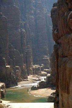 Canyoning Wadi Mujib Siq trail, Jordan