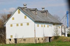White Barn in Tipton Co. Indiana