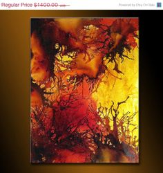 Original Abstract paintingContemporary Modern by newwaveartgallery, $700.00