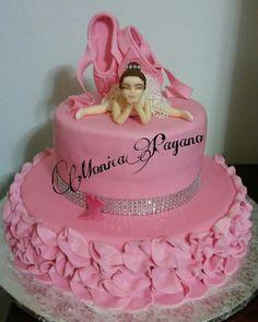 Torta ballerina - cake by Cakemomi
