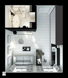 Black&White - kawalerka 28m2