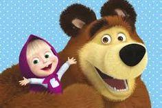 Resultado de imagem para marsha e o urso festa infantil