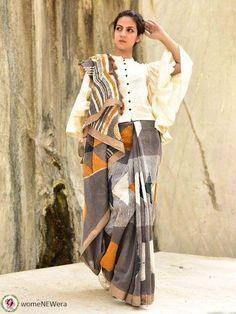 Saree Wearing Styles, Saree Styles, Blouse Styles, Saree Blouse Patterns, Saree Blouse Designs, Dress Designs, Saree Designs Party Wear, Drape Sarees, Lehenga